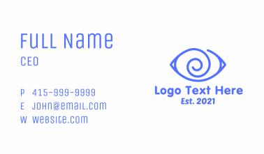 Hypnotic Eye  Business Card