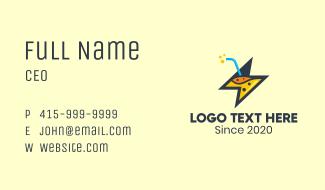 Thunder Energy Drink Business Card