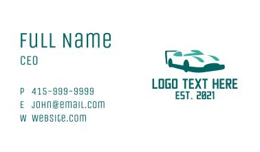 Automobile Carwash  Business Card