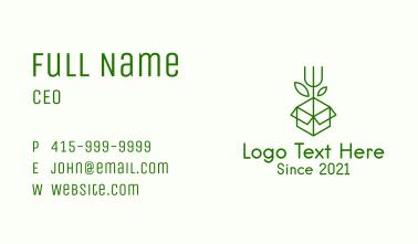 Box Garden Rake Business Card