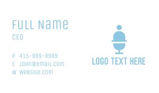 Gelato Person Business Card