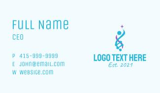 Medical DNA Strand  Business Card