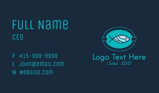 Fish Restaurant Signage Business Card