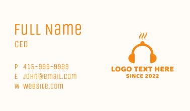 Hot Headphones Business Card