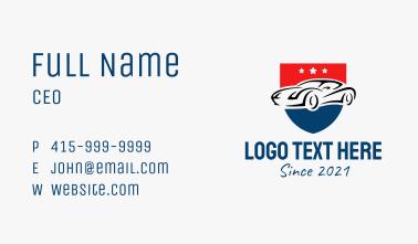 Premium Car Insurance Business Card