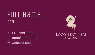 Seashell Beauty Queen  Business Card