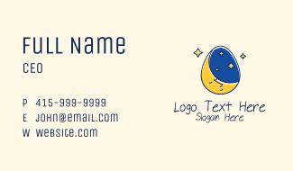 Bedtime Story Egg Business Card