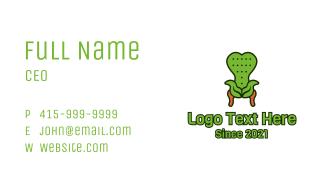 Leaf Antique Chair Business Card