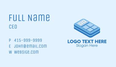 Simple 3D Calculator  Business Card