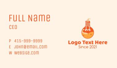 Light Bulb Juice Business Card