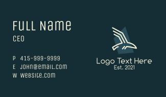 Generic Bird Outline Business Card