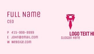 Pink Collar Job Business Card