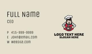 Chef Daddy Restaurant Business Card