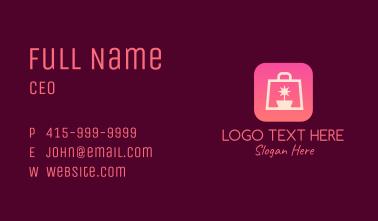 Star Pot Shopping Business Card