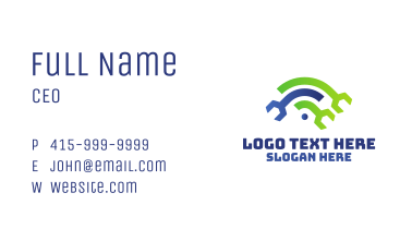 Wifi Wrench Business Card