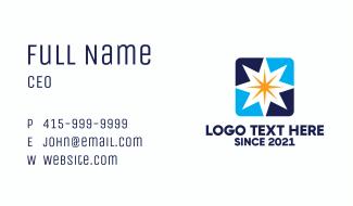 Star Box Business Card