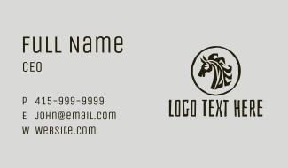 Safari Zebra Business Card