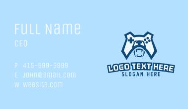 Bear Game Controller  Business Card