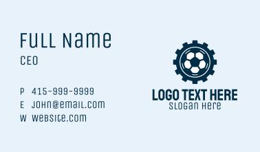 Soccer Ball Gear  Business Card