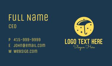 Umbrella Bites Business Card
