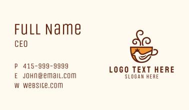 Royal Dove Coffee  Business Card