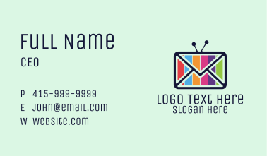 Media Mail Business Card