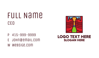 Grand Canyon Business Card