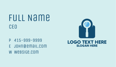 Security Search Business Card