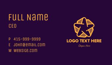 Golden Star Book Business Card