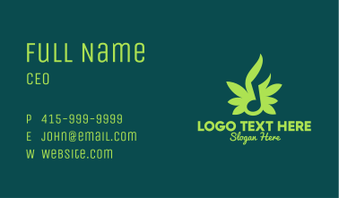 Musical Nature Sound Business Card