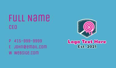 Pocket Lollipop Business Card