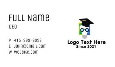 Lightbulb Creative Scholar  Business Card