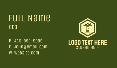Hexagonal Home Realty Business Card
