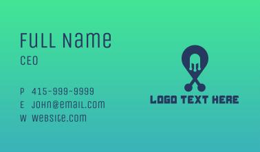 Tech Pin Business Card
