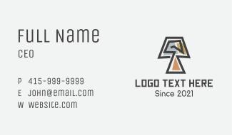 Mosaic Lamp Furniture Business Card