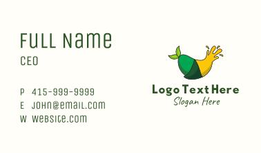 Green Mango Juice Business Card