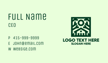 Green Nature House  Business Card