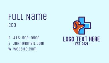 Dog Animal Clinic  Business Card