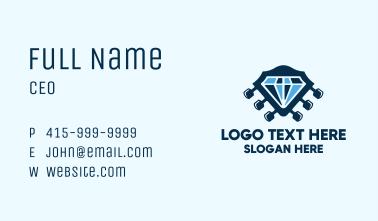Diamond Rock Sound Business Card