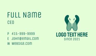 Green Cobra  Business Card