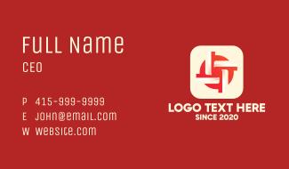 Generic Business Target Business Card