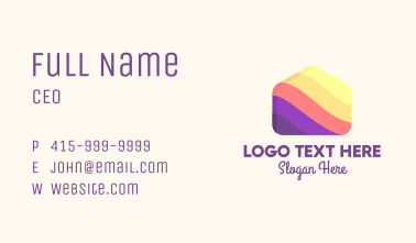 Candy House Business Card