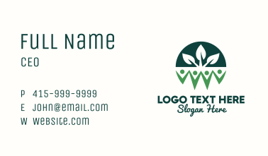 Nature Environmentalist Group Business Card
