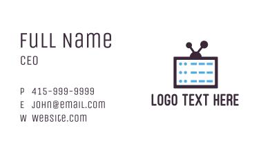 Media Server Business Card