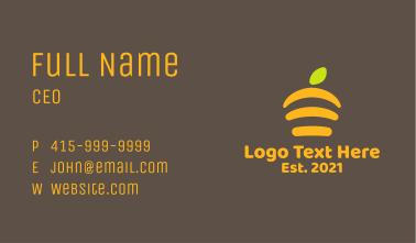 Abstract Beehive  Business Card