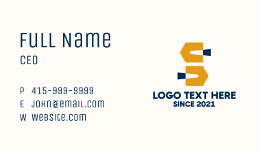 Trowel Construction Tool Business Card