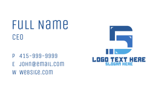 Pipeline Number 5 Business Card