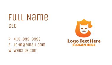 Cat Badge Business Card