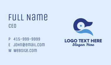 Blue Duck Animal Business Card