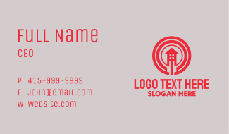 Red House Realty Business Card